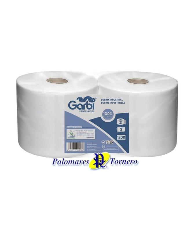 Papel Industrial, Gofrado, color blanco de celulosa y doble capa. Venta en Alicante y Albacete. Palomarestornero.com