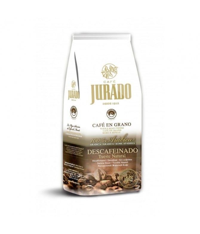 Café en Grano Descafeinado,100% Arábica Tueste Natural. Venta en Alicante y Albacete. Palomarestornero.com