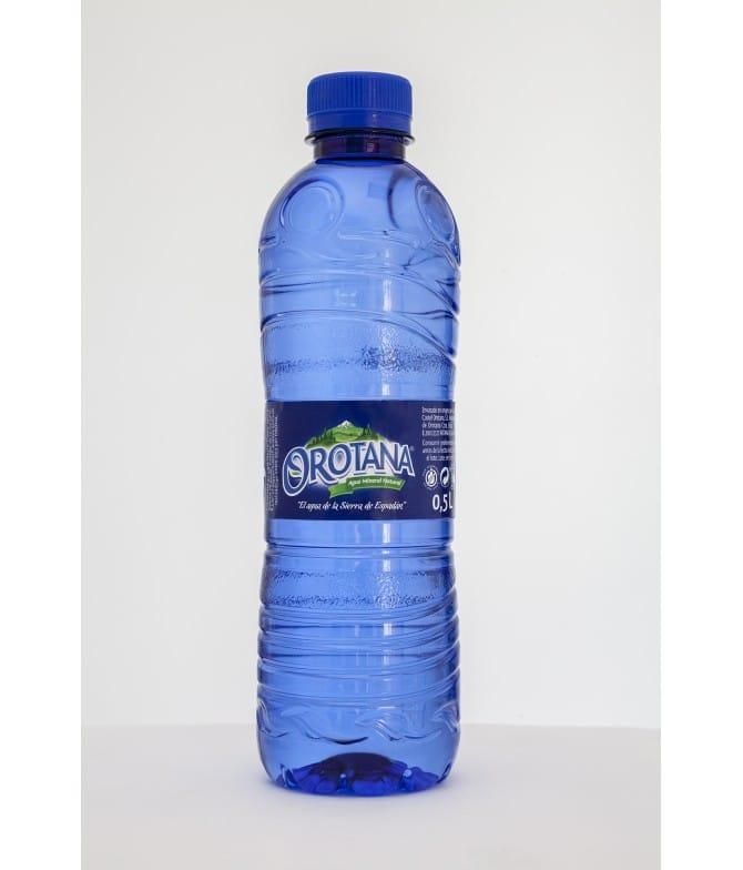 Agua Orotana, de 0,5L, de mineralización débil, natural y equilibrada. PPPA05. Palomarestornero.com
