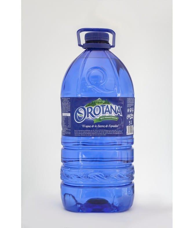 Agua Orotana 5L. palomarestornero.com