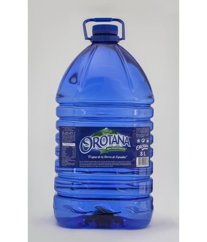 Agua Orotana 8L. palomarestornero.com